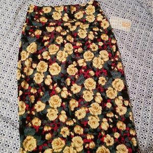 Gorgeous floral Lularoe Cassie skirt